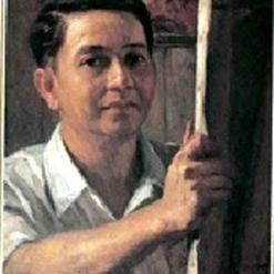 Fernando Amorsolo self portrait