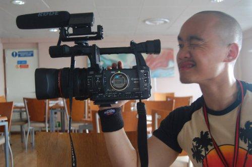 Budding video director JP Tanchanco