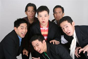 Members of the best comedy act in town