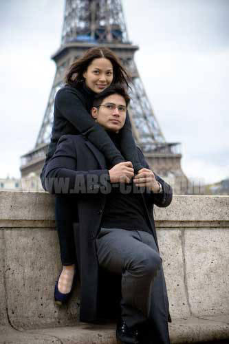 Lovers in Paris stars Piolo Pascual and KC Concepcion