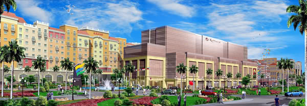Artist's impression of Newport City in Pasay