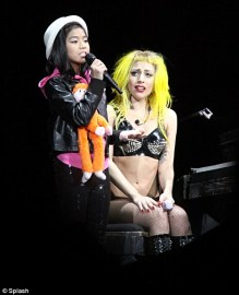 Maria Aragon and Lady Gaga