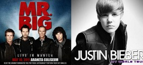 Justin Bieber vs Mr. Big: A battle between bubblegum pop and metal-edge rock