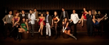 Cast of Sweet Charity (not seen in the photo are Chinie Nepomuceno, Francis Matheu and Angela Padilla)