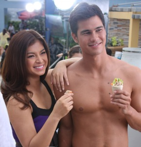 Angel Locsin and Phil Younghusband are exclusively dating only