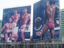 Philippine Volcanoes controversial billboard