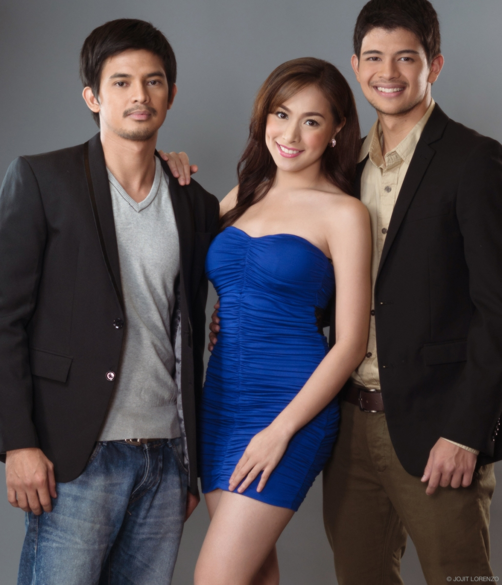 Reputasyon cast Jason Abalos, Cristine Reyes and Rayver Cruz