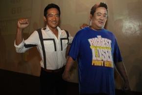 Former police officer and wild card entry Larry Martin wins the first Biggest Loser Pinoy edition