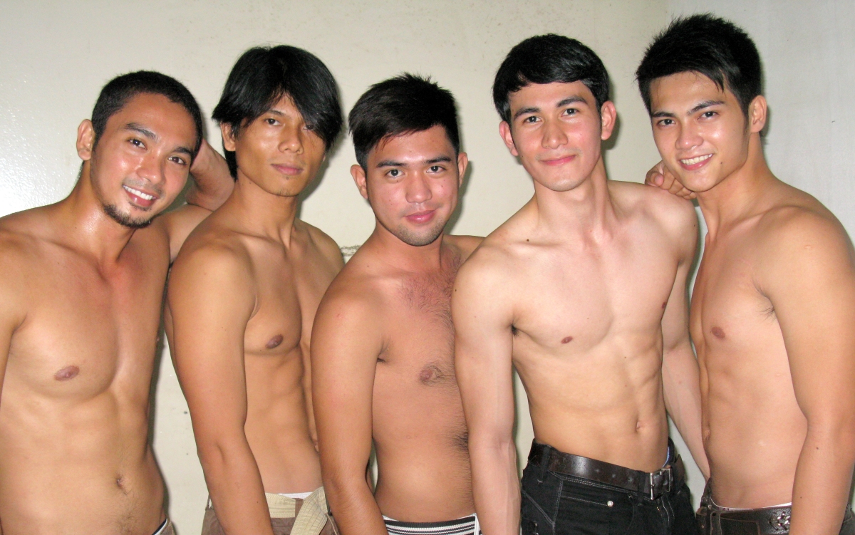 The men of Sayaw ng mga SENIORita Johnron Tañada Dax Alejandro Christian Paul Meteoro Chase Cervera Royce Chua