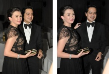 Angelica and John Lloyd together
