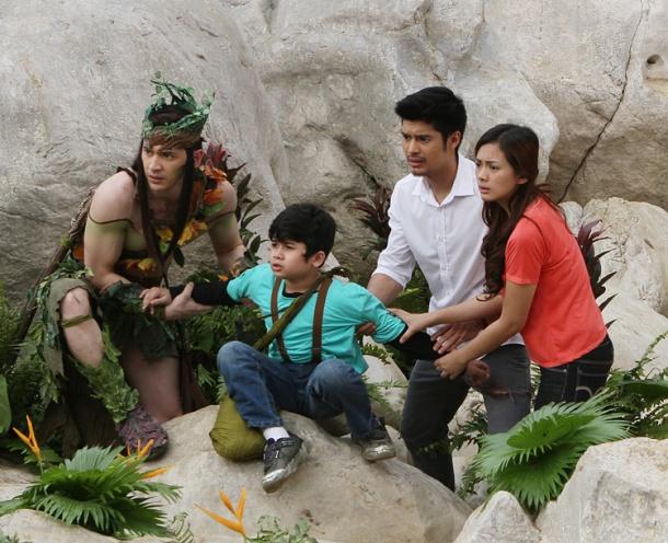 Ahron-Villena-Yogo-Singh-JC-deVera-and-Eula-Caballero-TV5 fantasy drama Enchanted Garden