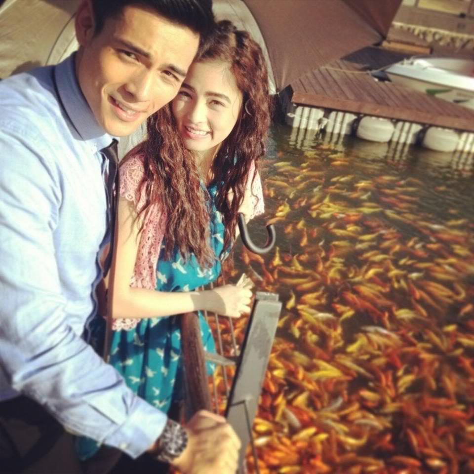 in kim chiu and xian lim from small to the big screen