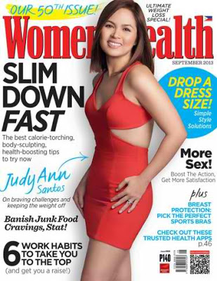 Judy Ann Santos for Women's Health September 2013