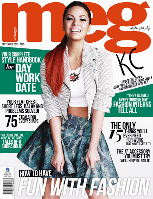KC Concepcion for MEG Magazine September 2013