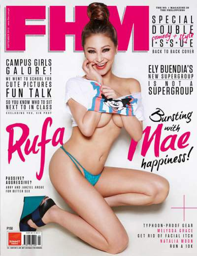 Rufa Mae Quinto on FHM September issue