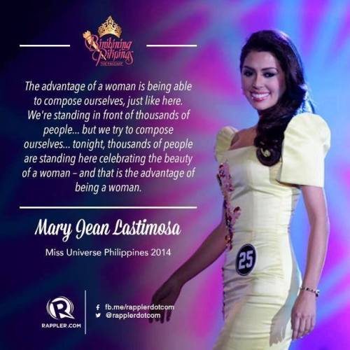 Mary Jean Lastimosa Q and A