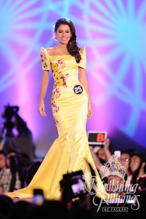 After 3 attempts, the 26-year-old beauty from Davao upset 39 other hopefuls the pageant's51steditionheldSunday (March 30) at the Araneta Coliseum. No less than the reigning Miss Universe,Gabriela Isler of Venezuela, helpedcrown this year's set of winners.