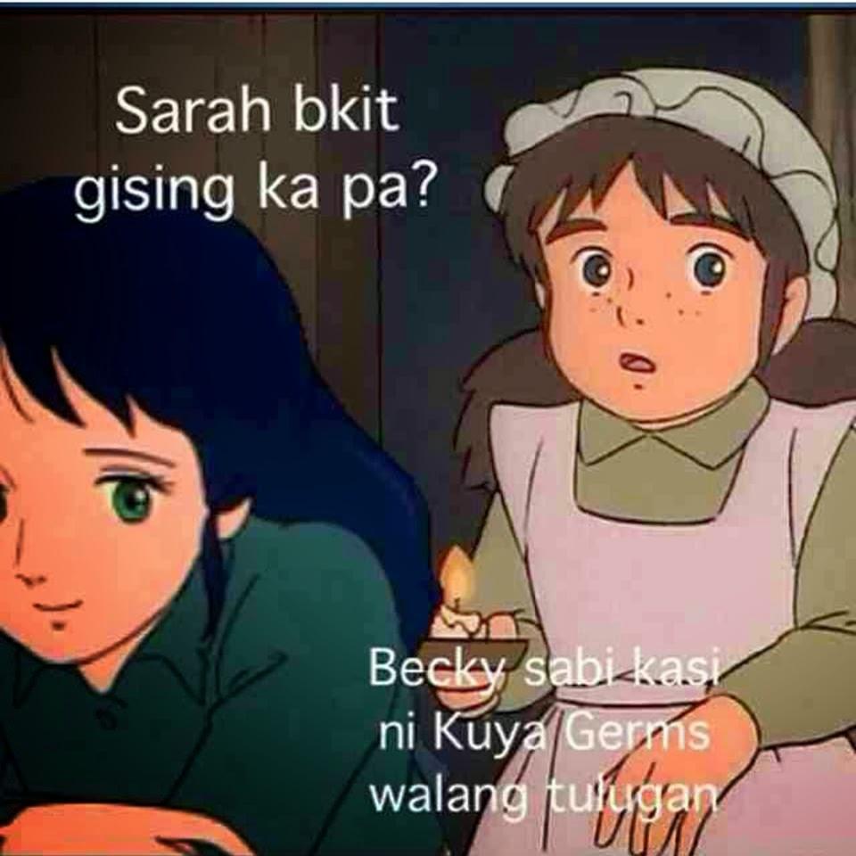Funny Memes Tagalog Princess Sarah : Sarah ang munting prinsesa takes social media by thunder