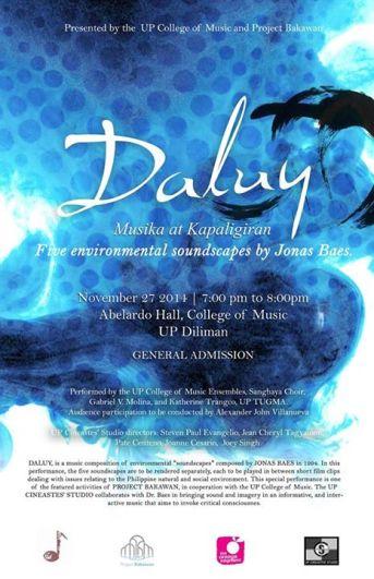 Daluy Musika at Kapaligiran