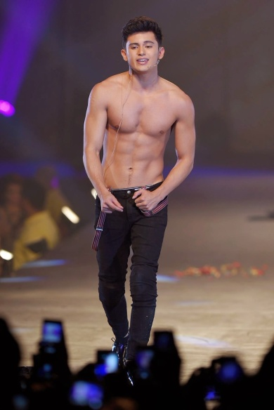 James Reid Shirtless