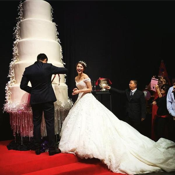 Largest Wedding Dress: The Price Of Love And Massive Piece Of Cake