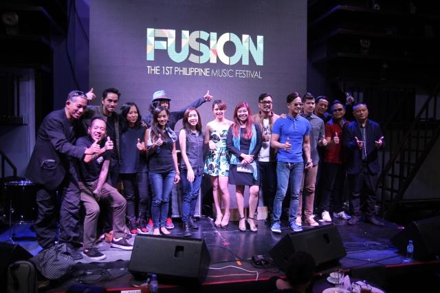 Fusion 1st Philippine Music Festival