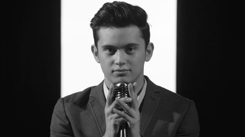 James Reid in his suit and tie