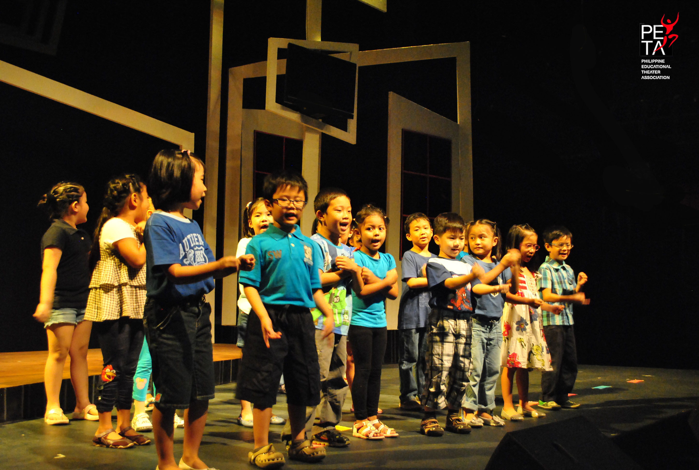 PETA's Summer Theater Arts Program   VERY WANG