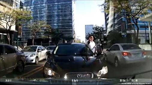 fat jaguar driver in BGC