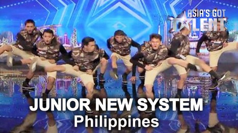 Manila based dance group Junior New Sysem