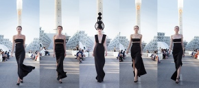 THE WORLD'S MOST INNOVATIVE CATWALK SHINED THROUGH THESTORM