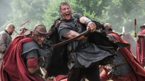Barbarians and Romans clash onHistory