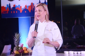 Chef Anna Olson whips up locally inspired dishes