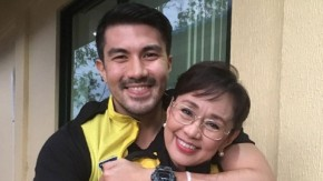 Luis Manzano supports mom's crucial decision