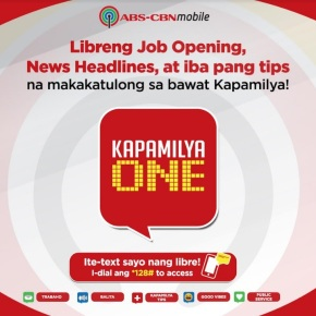 ABS-CBNmobile PROVIDES FREE JOB ALERTS, NEWS, AND SAFETY TIPS @ABSCBNpr