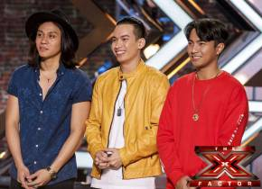 Pinoy boy band JBK impresses 'X Factor UK' judges