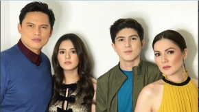 Zoren and Carmina satisfied with theirtwins
